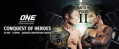ONE Championship: Conquest of Heroes