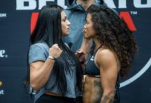 Veta Arteaga and Denise Kielholtz ahead of Bellator 205