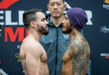 Patricky Pitbull and Roger Huerta, Bellator 205 face off