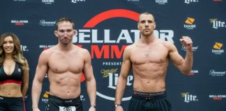 John Salter and Rafael Lovato Jr ahead of Bellator 205