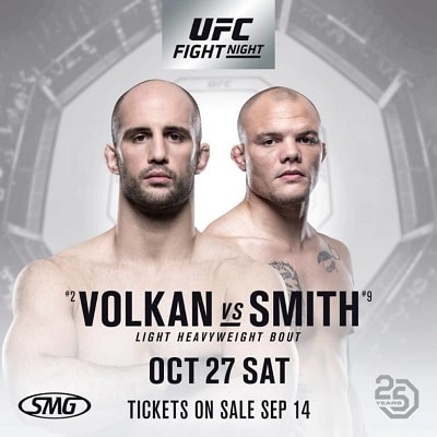 UFC Fight Night 138