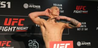 Don Madge, UFC Moncton weigh-in