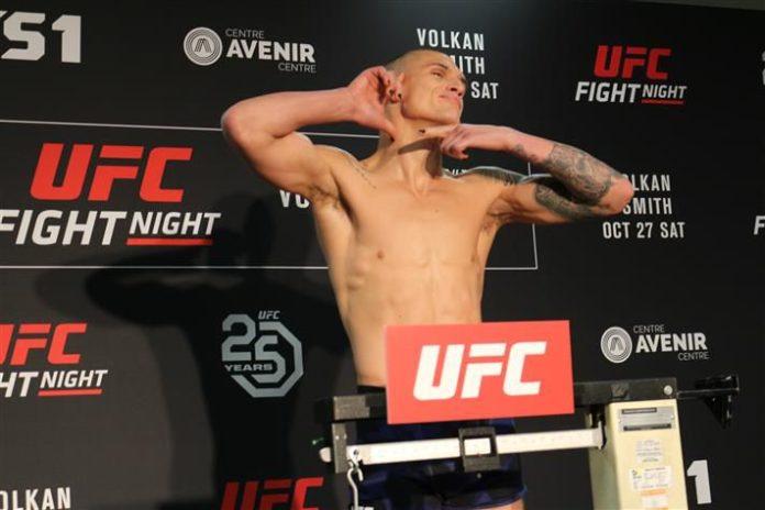 Don Madge, UFC Moncton UFC 242 weigh-in