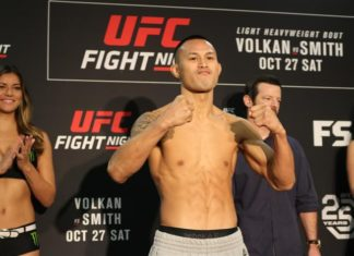 018 Andre Soukhamthath UFC Moncton UFC Shenzhen Su Mudaerji