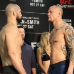 Volkan Oezdemir faces off with Anthony Smith ahead of UFC Moncton