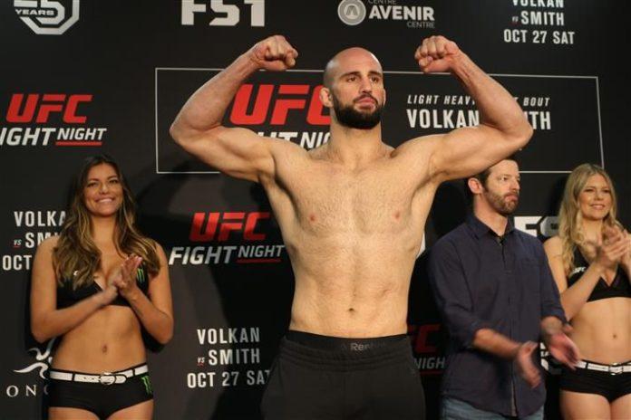 Volkan Oezdemir UFC Newark UFC Busan