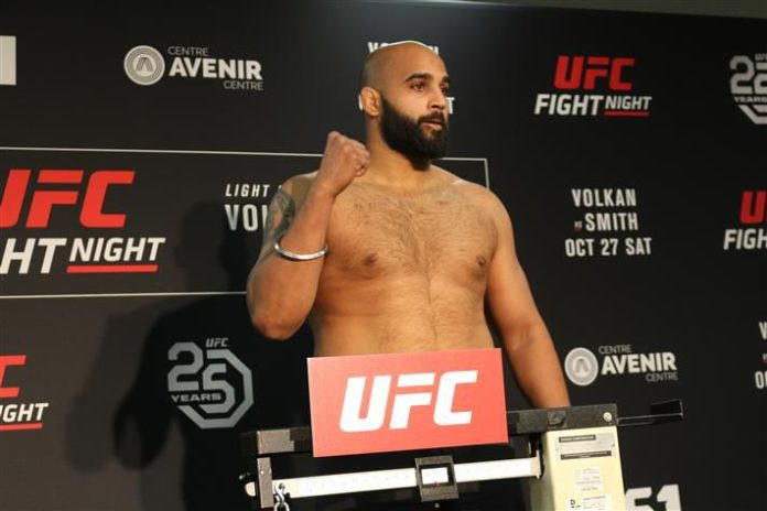 UFC Ottawa Arjan Bhullar