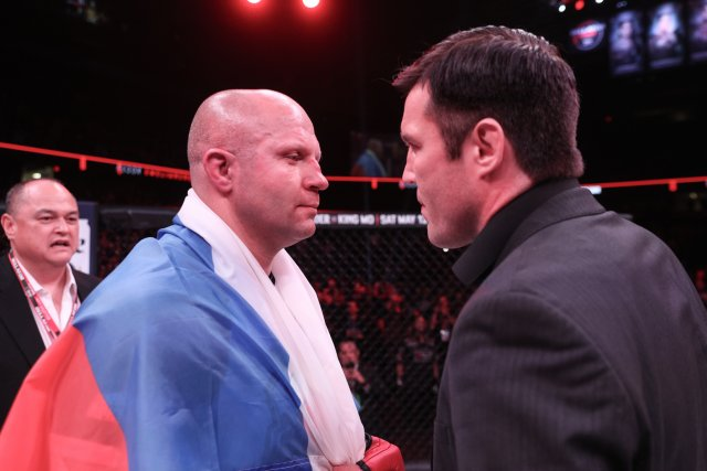 Fedor Emelianenko and Chael Sonnen