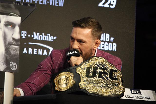 Conor McGregor UFC 229