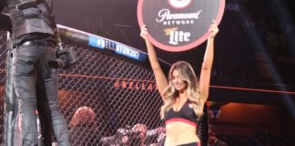 Bellator ring girl