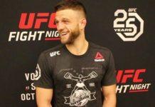 Calvin Kattar, UFC Moncton post-fight