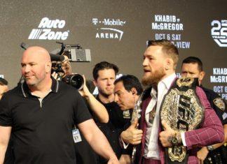 Conor McGregor ahead of UFC 229
