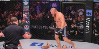 Josh Copeland knocked out Alex Nicholson at PFL 8 on Friday, October 5