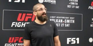 Court McGee UFC Moncton media day
