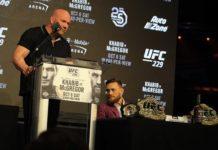 UFC President Dana White and Conor McGregor