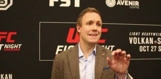 David Shaw, UFC VP of International and Content