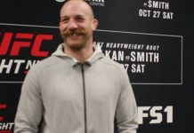 Patrick Cummins UFC Moncton media day