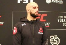 Volkan Oezdemir UFC Moncton post-fight