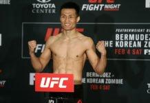 UFC Denver Korean Zombie Yair Rodriguez