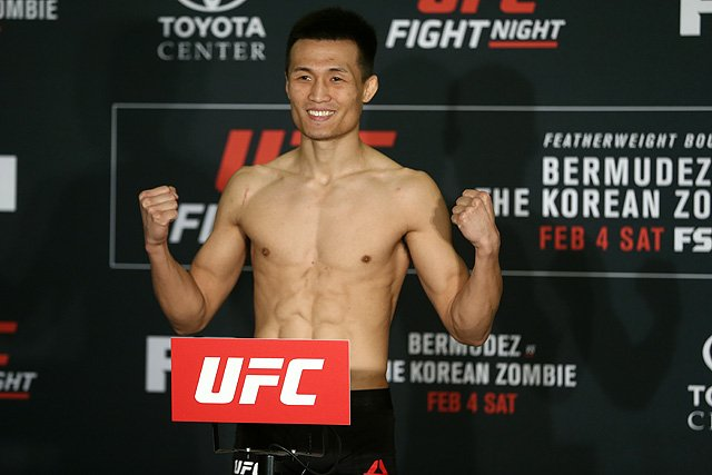 UFC Denver Korean Zombie Yair Rodriguez UFC Greenville Chan Sung Jung