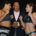 Felicia Spencer and Pam Sorenson, Invicta FC 32