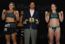 Felicia Spencer and Pam Sorenson Invicta FC 32