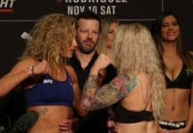 Ashley Yoder and Amanda Cooper, UFC Denver face-off