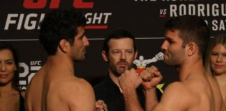 Beneil Dariush and Thiago Moises, UFC Denver