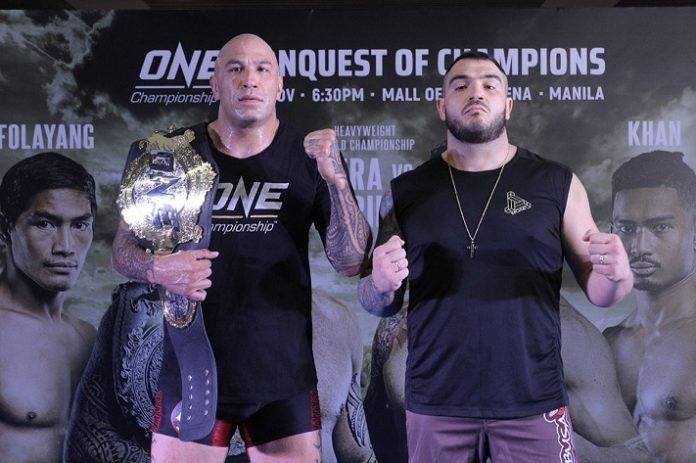 Brandon Vera and Mauro Cerilli, ONE Championship