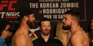 Cowboy Cerrone and Mike Perry, UFC Denver