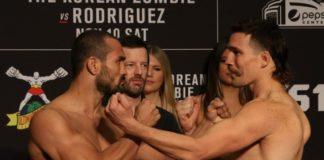 Davis Ramos and John Gunther face off ahead of UFC Denver