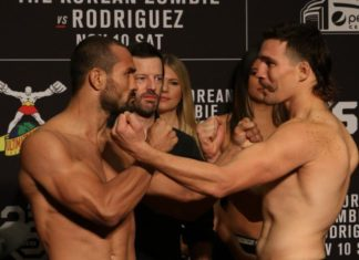 Davis Ramos and John Gunther face off ahead of UFC Denver