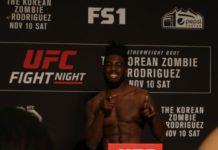 UFC 234 Devonte Smith