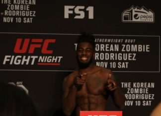 UFC 234 Devonte Smith