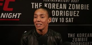 Germaine de Randamie UFC Denver media day