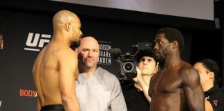Jared Cannonier defeated David Branch at UFC 230