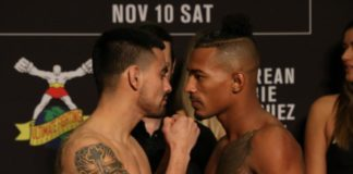 Joseph Morales and Eric Shelton face off ahead of UFC Denver