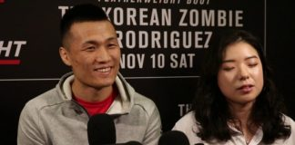 Korean Zombie, UFC Denver