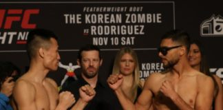 Korean Zombie and Yair Rodriguez, UFC Denver