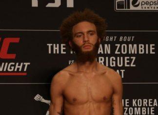 Luis Pena, UFC Denver