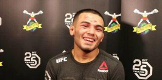 Mark de la Rosa UFC Denver