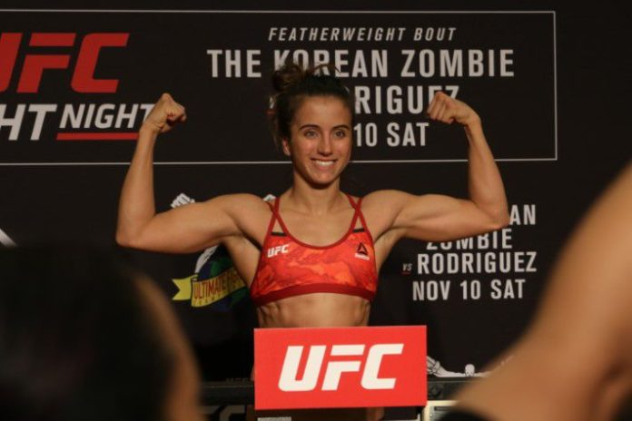 UFC Denver Results: Maycee Barber Smashes Tough Hannah ...