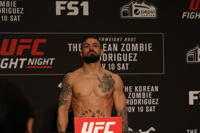 Mike Perry UFC Denver