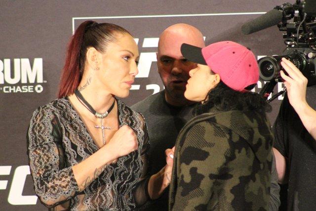 Cris Cyborg and Amanda Nunes UFC 232