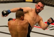 Jared Gordon, UFC Sao Paulo, UFC Minneapolis
