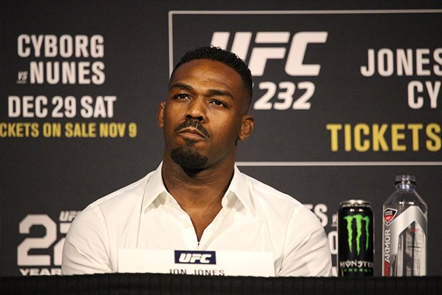 Jon Jones UFC 235 NSAC