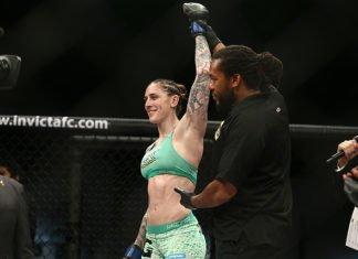 Megan Anderson UFC 232