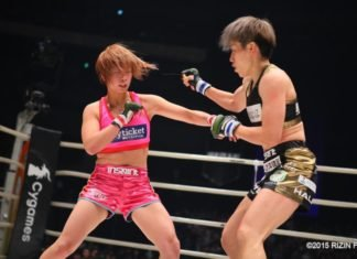 Kana Asakura and Ayaka Hamasaki, RIZIN FF