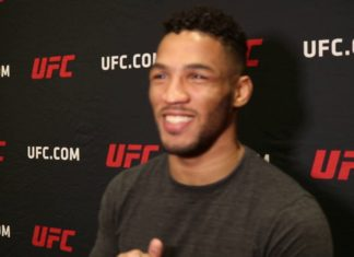 Kevin Lee UFC Milwaukee