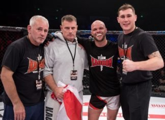 UFC London Mike Grundy